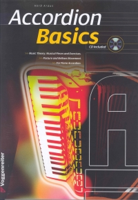 ACCORDION BASICS Kraus Book & CD