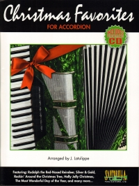 Christmas Favorites For Accordion Latulippe + Cd Sheet Music