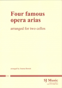 Four Famous Opera Arias Borrett 2 Cellos Sheet Music