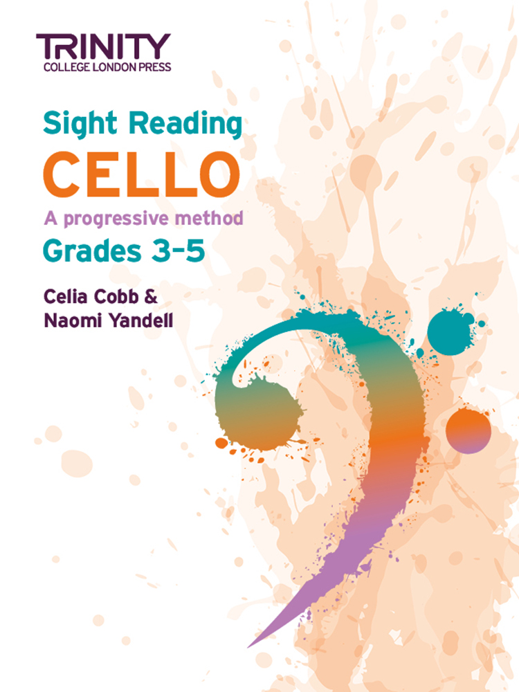 Trinity Cello Sight Reading Grades 3 - 5 Sheet Music