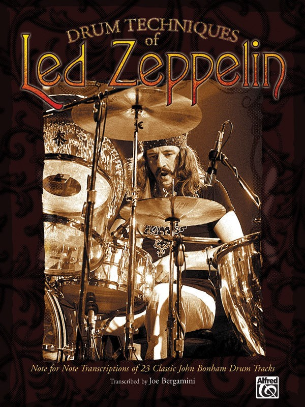 Led Zeppelin Drum Techniques Of... Sheet Music