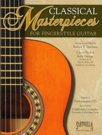 Classical Masterpieces For Fingerstyle Guitar + Cd Sheet Music