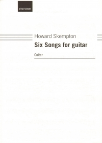 Skempton Six Songs For Guitar Sheet Music