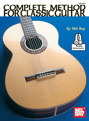 Mel Bay Complete Method For Classic Guitar +online Sheet Music