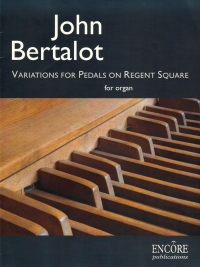 Bertalot Variations For Pedals On Regent Square Or Sheet Music