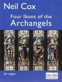 Cox Four Ikons Of The Archangels Organ Sheet Music