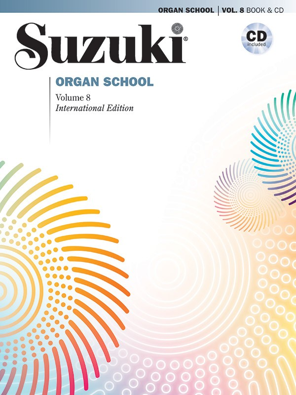 Suzuki Organ School 8 Book & Cd Sheet Music