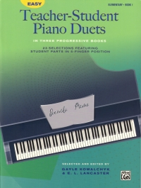 Easy Teacher-student Piano Duets Book 1 Sheet Music