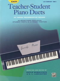 Easy Teacher-student Piano Duets Book 3 Sheet Music