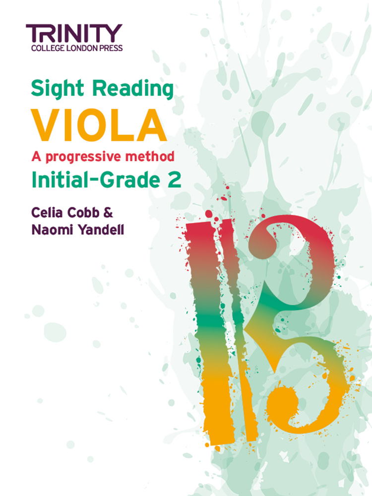Trinity Viola Sight Reading Initial - Grade 2 Sheet Music