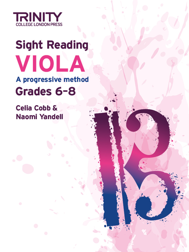 Trinity Viola Sight Reading Grades 6 - 8 Sheet Music