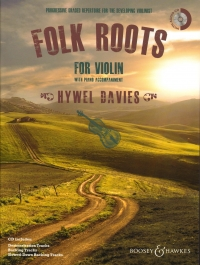 FOLK ROOTS FOR VIOLIN Davies Book & CD