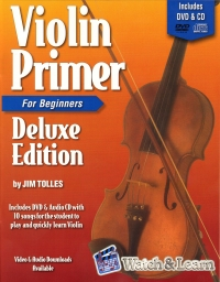 Violin Primer Deluxe Edition Tolles + DVD & Cd Sheet Music