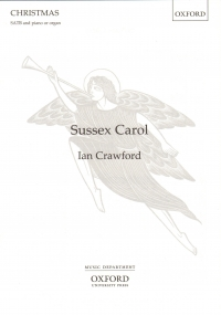 Sussex Carol Crawford Satb & Piano Or Organ Sheet Music