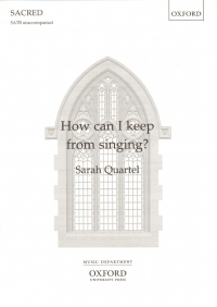 How Can I Keep From Singing Quartel Satb Unaccomp Sheet Music