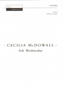 Ash Wednesday McDowall Satb & Organ Sheet Music
