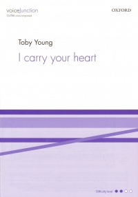I Carry Your Heart Young Ssatbb Unaccompanied Sheet Music