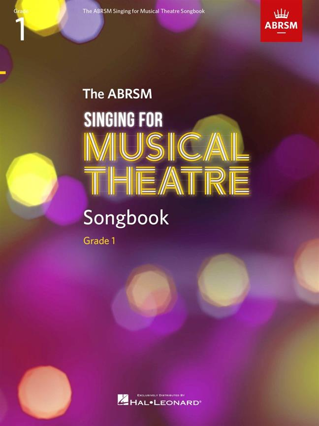 Singing For Musical Theatre Songbook Grade 1 Abrsm Sheet Music