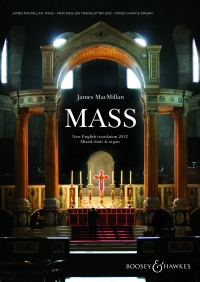 MACMILLAN MASS New English Translation satb & Org