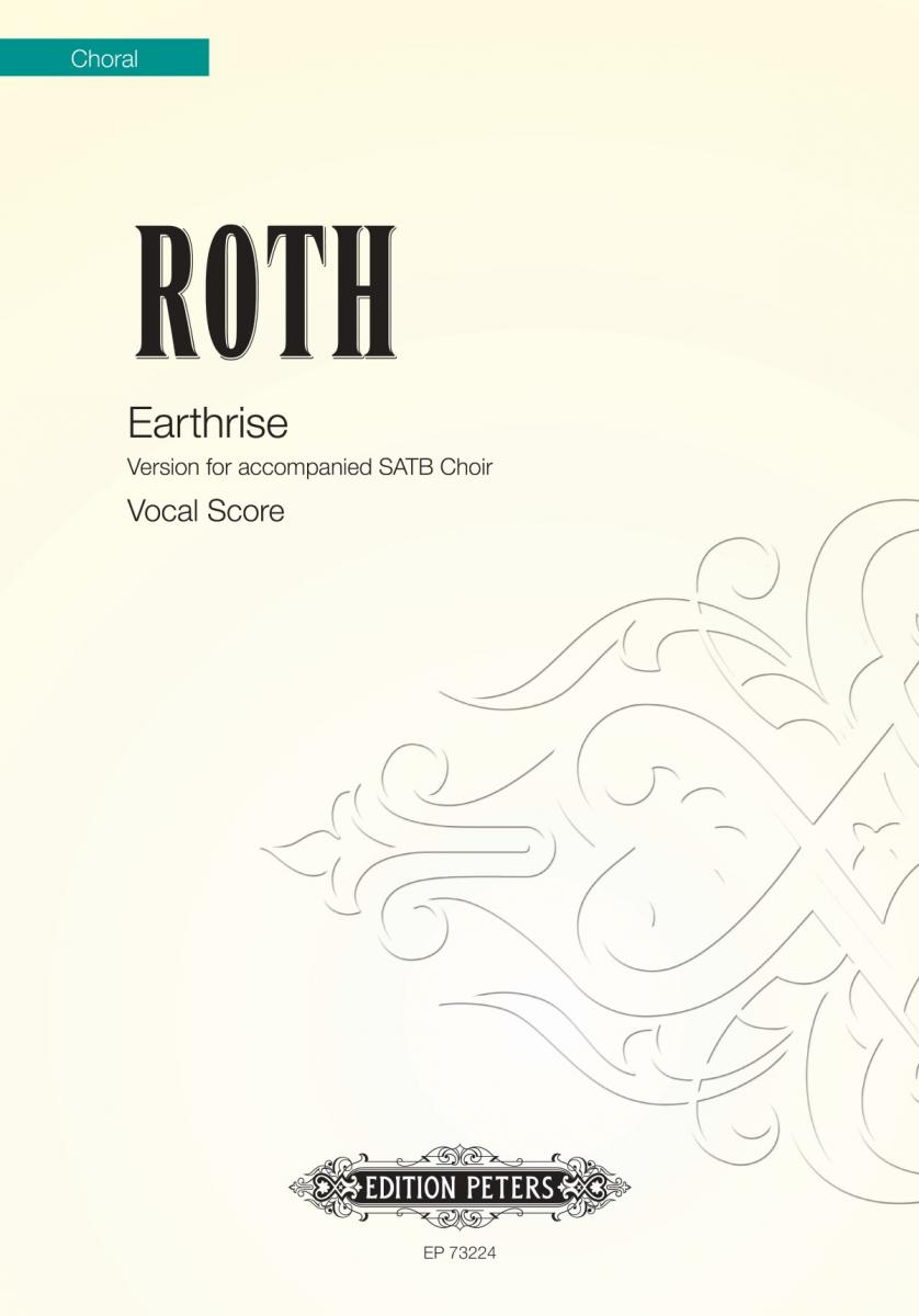 Roth Earthrise Vocal Score Sheet Music