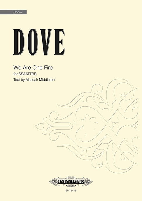 Dove We Are One Fire Ssaattbb Sheet Music