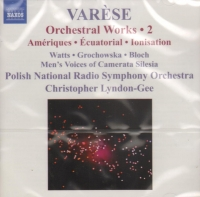 VARESE ORCHESTRAL WORKS Vol 2 MUSIC CD