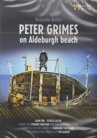 BRITTEN PETER GRIMES ON ALDEBURGH BEACH MUSIC DVD