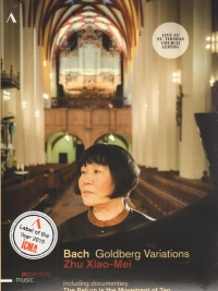 BACH GOLDBERG VARIATIONS Zhu Xiao-Mei MUSIC DVD
