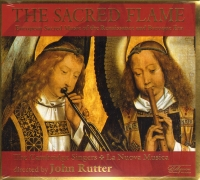 SACRED FLAME The Cambridge Singers Rutter MUSIC CD