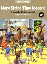 More String Time Joggers Teachers Book + Cd Sheet Music