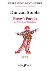 Stubbs Popovs Parade Symphonic Wind Band Score Sheet Music