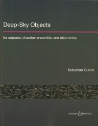 Currier Deep Sky Objects Score Sheet Music