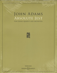 Adams Absolute Jest Score Sheet Music