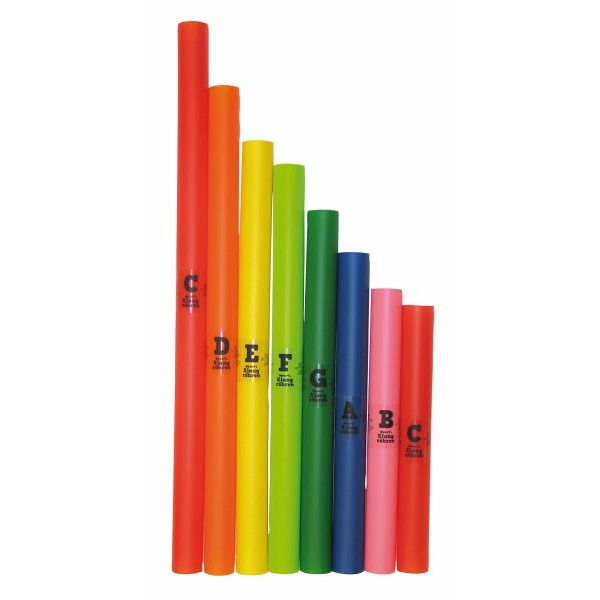 VOGGY'S SOUND TUBES 8 Colourful Melody Tubes