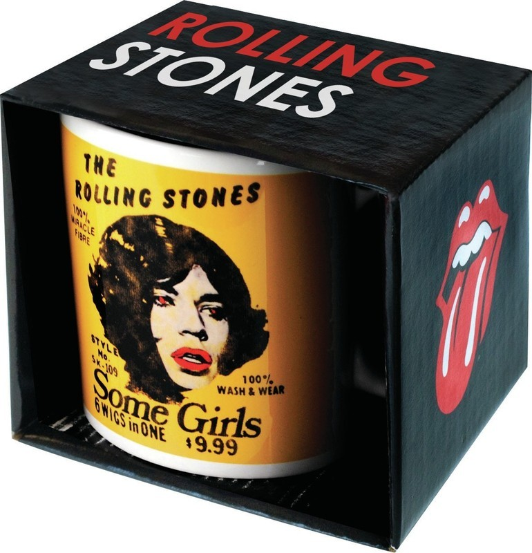 ROLLING STONES BOXED MUG Some Girls