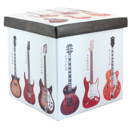 Guitars Folding Storage Box Sheet Music