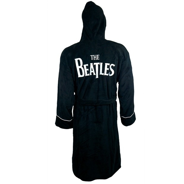 Beatles Bathrobe Drop T Logo Adult One Size Sheet Music