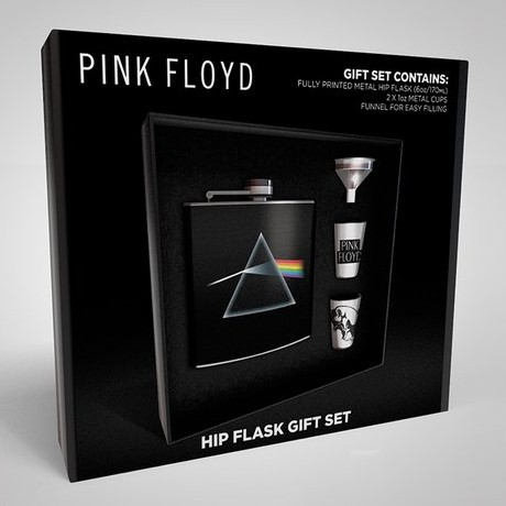 Pink Floyd Hip Flask Gift Set Dark Side Sep 18 Sheet Music