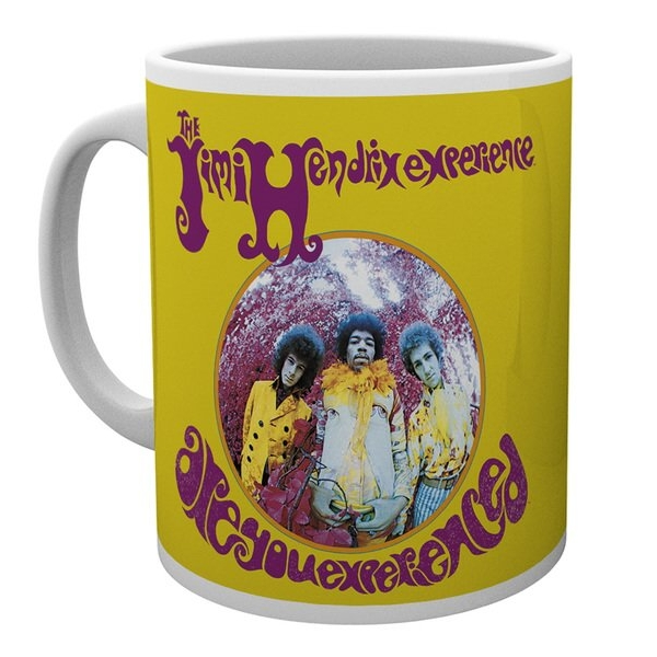 Jimi Hendrix Boxed Mug Are You Experienced Sheet Music
