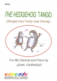 Fairhead The Hedgehog Tango Clarinet & Piano Sheet Music