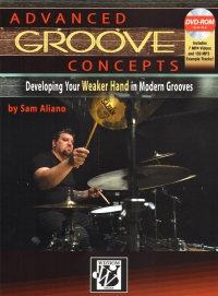 Advanced Groove Concepts Aliano Drums + Dvd-rom Sheet Music