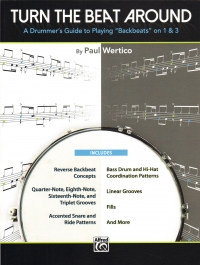 Turn The Beat Around Drummers Guide Wertico Sheet Music