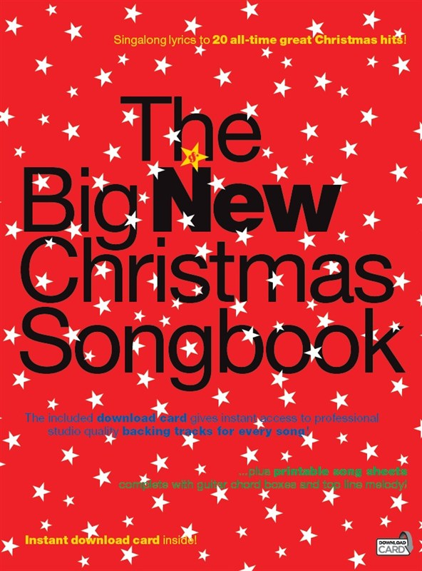 BIG NEW CHRISTMAS SONGBOOK mlc + download