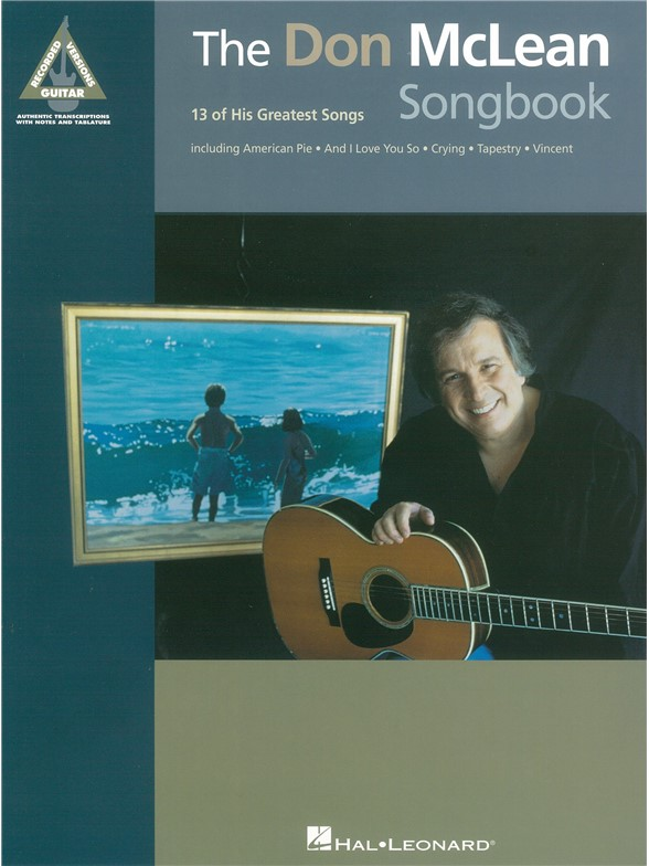 DonMcLeanSongbook Guitar Tab Sheet Music