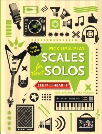 Pick Up & Play Scales Solos Brown Jackson Guitar Sheet Music