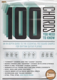 Guitar World 100 Chords You Need To Know Brown Dvd Sheet Music