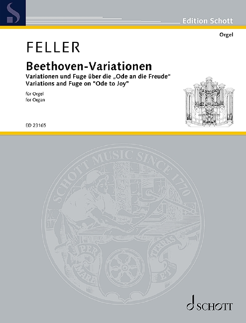 Feller Beethoven Variations Organ Sheet Music
