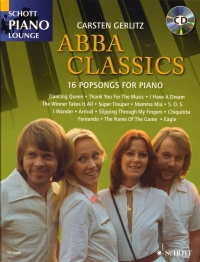 Abba Classics Gerlitz + CD Schott Piano Lounge Sheet Music
