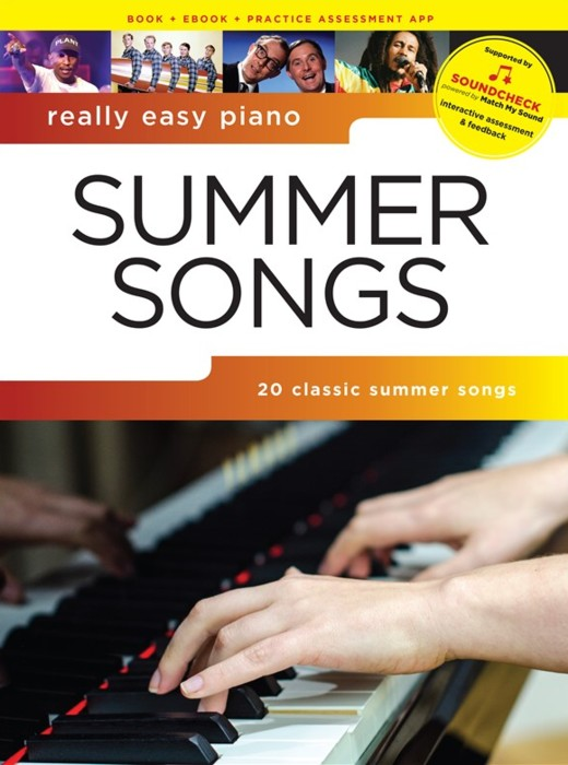 Really Easy Piano Summer Songs Sheet Music