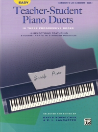 Easy Teacher-student Piano Duets Book 2 Sheet Music